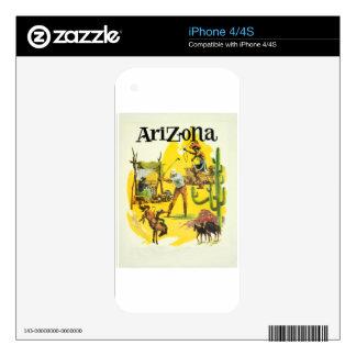 Publicidad del vintage de Arizona Skins Para iPhone 4