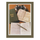 Publicidad del vintage, diarios de Letts Tarjeta Postal