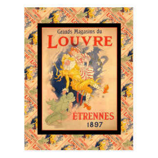 Publicidad del vintage, Francia, Etrennes 1897 Tarjetas Postales