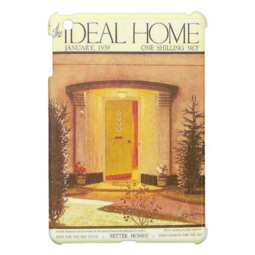 Publicidad del vintage, hogar ideal 1939 iPad mini protectores