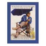 Publicidad del vintage, Jubileaums Aktavit Tarjeta Postal