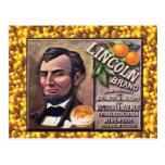 Publicidad del vintage, naranjas de la marca de Li