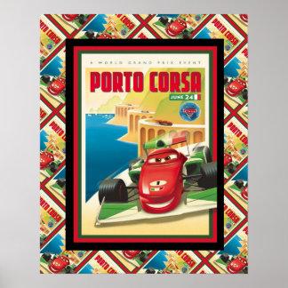 Publicidad del vintage, Oporto Corso Póster