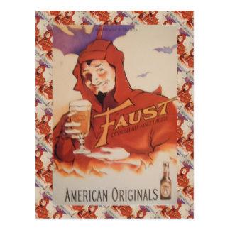 Publicidad del vintage, originales del americano d tarjeta postal