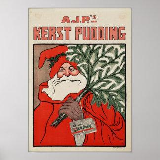 Publicidad del vintage póster