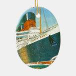 Publicidad del vintage, RMS Queen Mary Adornos