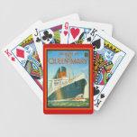 Publicidad del vintage, RMS Queen Mary Barajas De Cartas