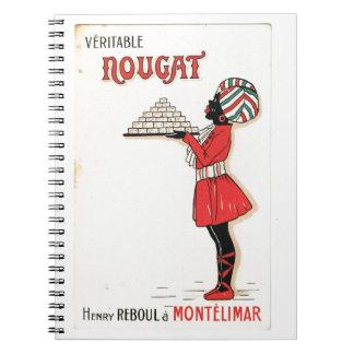 Publicidad del vintage turrón Montelimar
