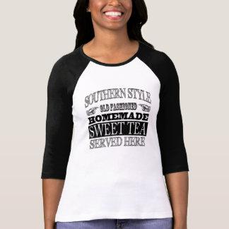Publicidad dulce pasada de moda de la apariencia camiseta