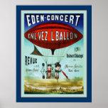Publicidad francesa del vintage del ~ del circo posters