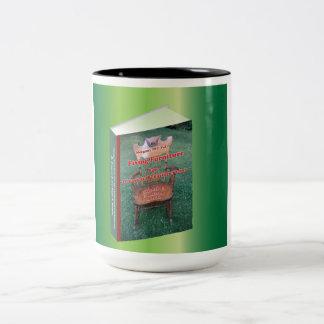 Publicidad para los muebles de fijación taza dos tonos