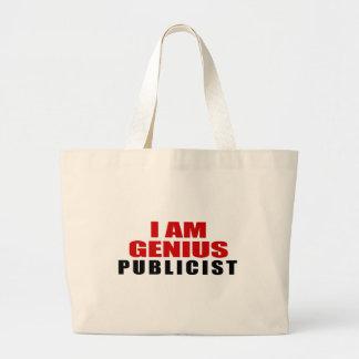 PUBLICIST DESIGNS JUMBO TOTE BAG