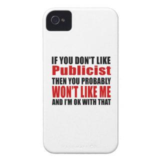 Publicist Don't Like Designs iPhone 4 Case-Mate Case