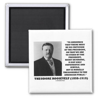 Público americano traidor de Theodore Roosevelt Iman