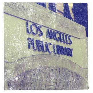 Público Library.png de Los Ángeles del estilo del Servilleta De Papel