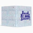 Publish My Book 3 Ring Binder