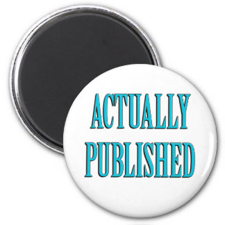 Published Author 2 Inch Round Magnet