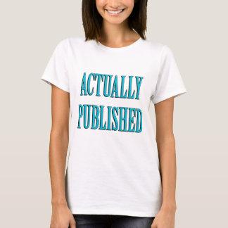 Published Author T-Shirt