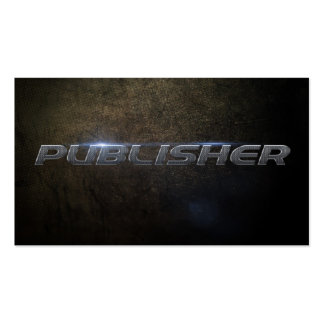 Publisher Business card Tarjetas Personales