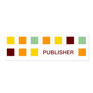 PUBLISHER (mod squares) Business Card Templates