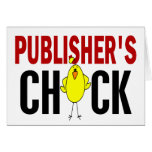 PUBLISHER'S CHICK GREETING CARD