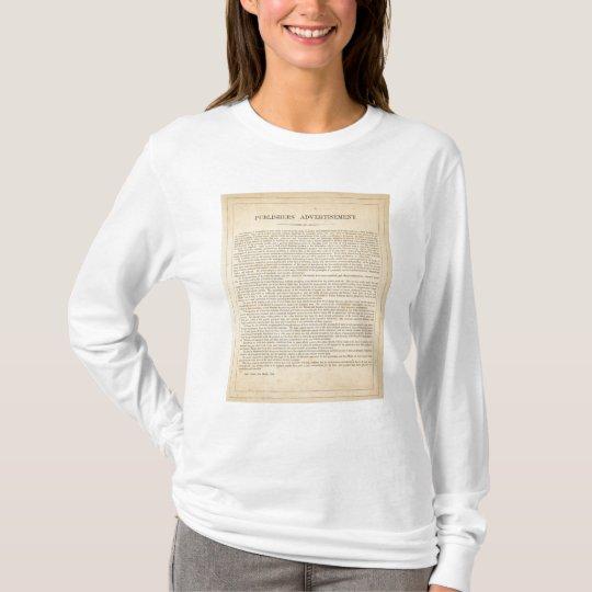Publishers' Advertisement T-Shirt