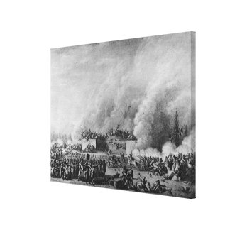 Publishing the martial law at the canvas print