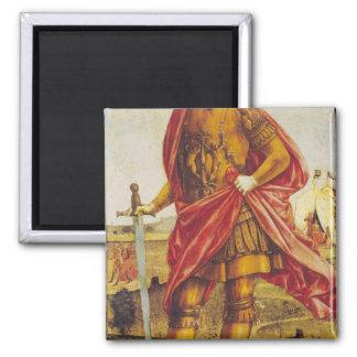 Publius Scipio Africanus 2 Inch Square Magnet