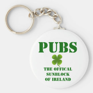 PUBS the Official Sunblock of Ireland Keychain