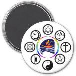 PUC Logo Round Magnet