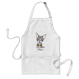 Pucca by Kakurai missile Adult Apron