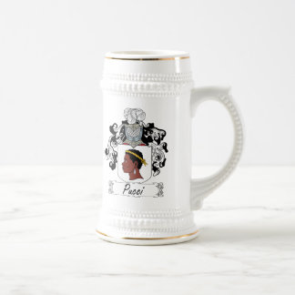 Pucci Family Crest Beer Stein