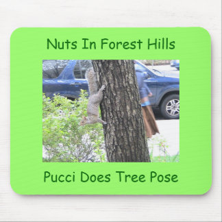 Pucci hace actitud del árbol mouse pads