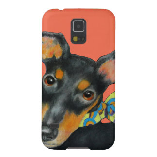 Pucci Scarf Manchester Terrier Galaxy S5 Cover
