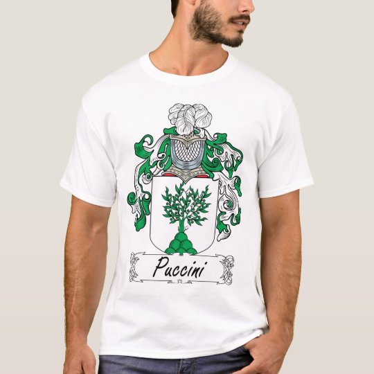 Puccini Family Crest T-Shirt