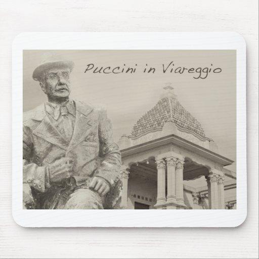 Puccini in Viareggio Antique Mouse Pads