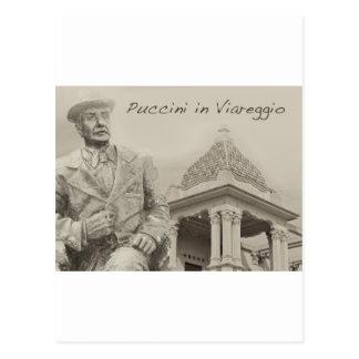Puccini in Viareggio Antique Postcard