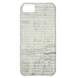 Puccini Opera La Bohème Music Manuscript Excerpt Case For iPhone 5C