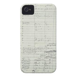 Puccini Opera La Bohème Music Manuscript Excerpt Case-Mate iPhone 4 Case