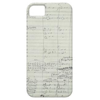 Puccini Opera La Bohème Music Manuscript Excerpt iPhone 5 Case