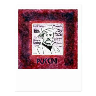 Puccini postcard