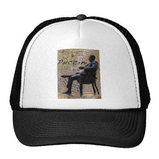 Puccini_Statue_Lucca1 Trucker Hats