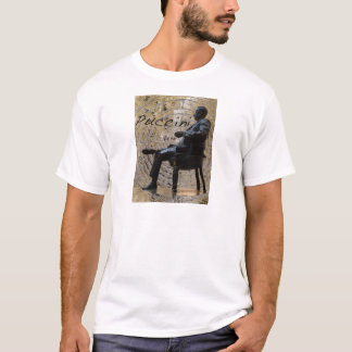 Puccini_Statue_Lucca1 T-Shirt