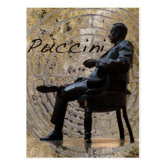 Puccini_Statue_Lucca1 Tarjetas Postales