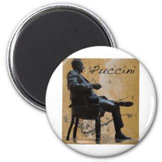 Puccini_Statue_Lucca Imán Redondo 5 Cm