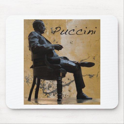 Puccini_Statue_Lucca Mousepad