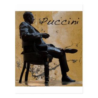Puccini_Statue_Lucca Postcard