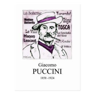 Puccini Tarjeta Postal