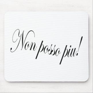 Puccini's Tosca - Non posso piu! Mouse Pad