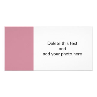 Puce High End Solid Colored Card